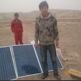 兰州永登沙场300w太阳能光伏发电系统,太阳能发电机