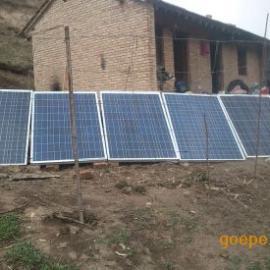 甘肃定西市岷县500w多晶硅太阳能发电机,牧区太阳能发电系统