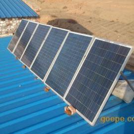 兰州小型太阳能发电机组 600w太阳能发电机,兰州太阳能光伏板