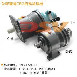 气动减速马达 DSV防爆叶片式气动马达配齿轮型减速机