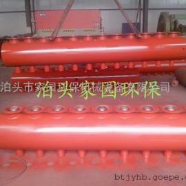 专业生产袋式除尘器喷吹系统储气包|喷吹管|喷吹清灰系统组件