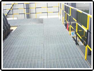 钢结构平台格栅板  四川格栅板  镀锌格栅板
