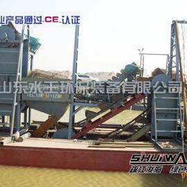 青州水王120m3/h链斗式挖沙船