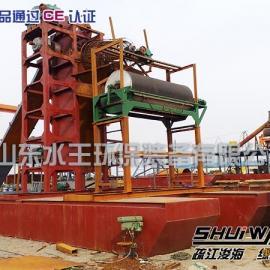 青州水王120斗挖沙选铁设备