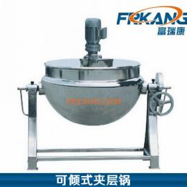 QJ型可倾式蒸汽夹层锅