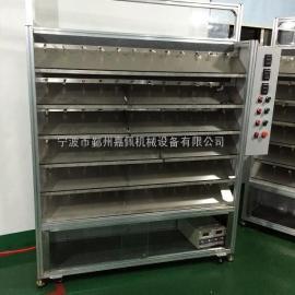 供应浙江老化架 链板输送线 自动插件线  无动力滚筒输送线