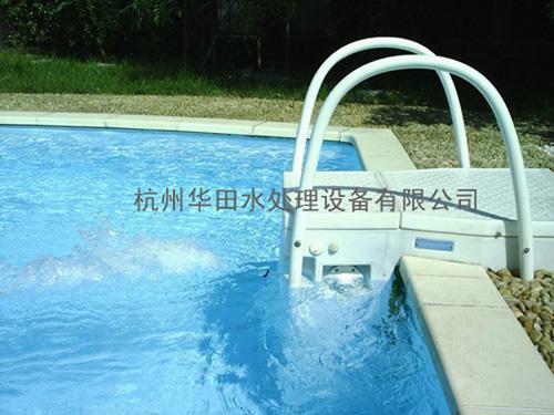 高档别墅恒温游泳池配套用水处理过滤设备