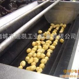 迪凯毛辊清洗机  土豆去皮清洗机     根茎类清洗设备