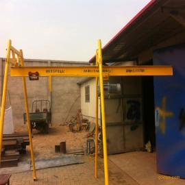 室内直滑式吊运机500公斤带10号槽钢三柱式四柱式可选