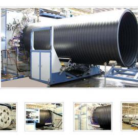 双平壁塑钢缠绕管生产线