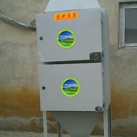 青岛工业油烟净化器安装示意图,油烟净化器工程