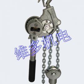 日本NGK紧线器环链铝合金手扳葫芦价格参数