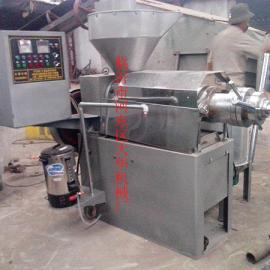金富民高效花生米榨油机产品出油率高