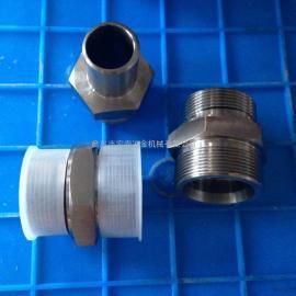厂家直销 批发不锈钢焊接式端直通管接头 液压接头