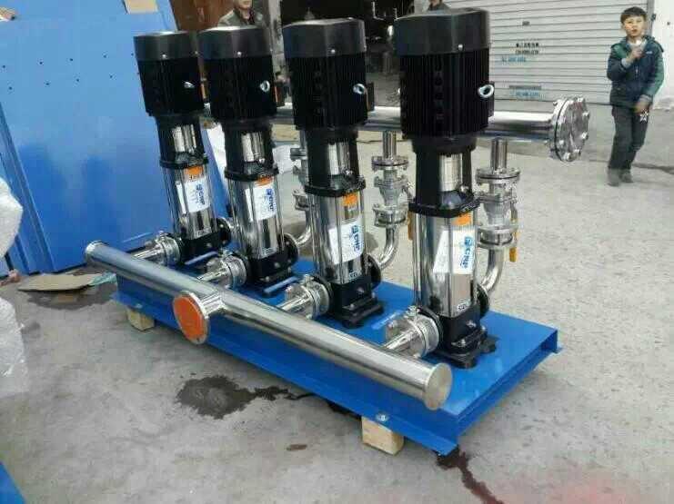 无负压供水设备-不锈钢无负压变频供水设备