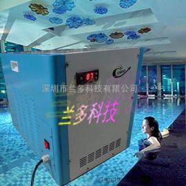 兰多泳池机,高效泳池热泵,兰多恒温机