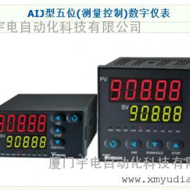 厦门宇电AIJ型五位(测量控制)数字仪表