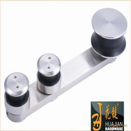 佛山花键专业生产无框架玻璃304不锈钢静音耐磨01A吊轮