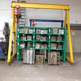 深圳小型龙门架,移动式龙门架,起吊500公斤的小型龙门吊架