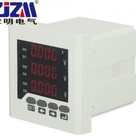 单三相数显电压表 交直流电压表 数字电压表 电流电压表