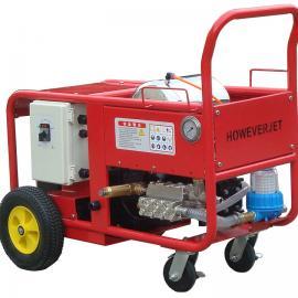 水泥厂去结皮高压水枪预热器清堵窑头窑尾清堵打雪人专用
