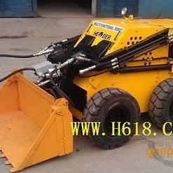 小型遥控滑移履带式矿用装载机