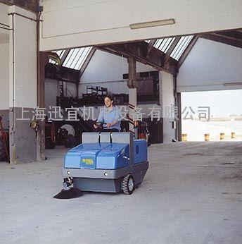 意大利原装进口PB120E道路吸尘扫地机 车间地面清扫机