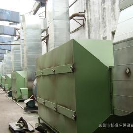 广西塑胶废气治理 注塑废气处理设备 活性炭吸附塔厂家