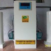 深井水消毒�O�湔��盒投�氧化氯�l生器的反��原理