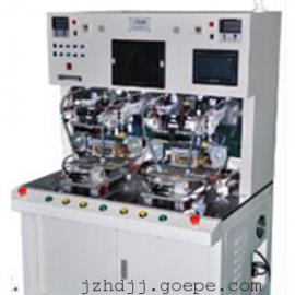 双工位平台进出脉冲热压机