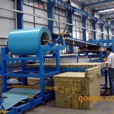 岩棉泡沫聚酯夹心复合板成型机生长线配套设备
