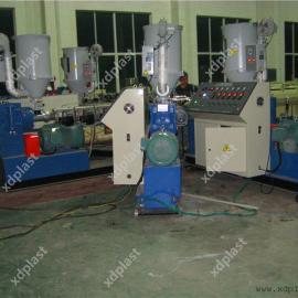 PE三层共挤管材生产设备|PE共挤管材生产线