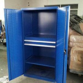 双开门工具存放柜,六抽工具柜,工具整理柜,钢制工具柜