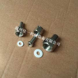 供应不锈钢压力表接头螺纹规格M14*1.5、M20*1.5