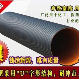 河南钢带增强聚乙烯(PE)螺旋波纹管