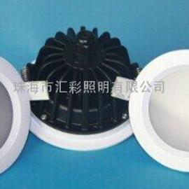 洗手间防水防雾LED筒灯IP65LED防水筒灯7W