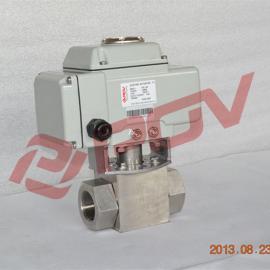 电动不锈钢高压球阀/高性能防爆电动执行器