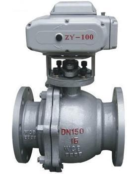 电动球阀 BRQT-16 DN80 扬州博雷电动阀