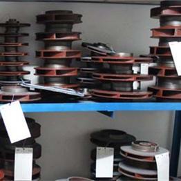 广一泵 空调管道离心清水污水化工多级泵各种规格叶轮配件