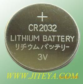 厂家直销CR2032电池 3v纽扣电池