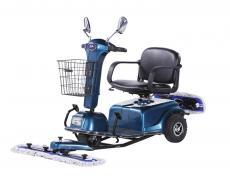 商场用电动尘推车 保洁用310C推尘车