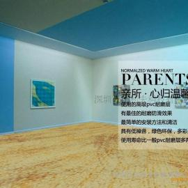 塔斯娜2.6mm pvc塑胶地板革环保 耐磨防滑加厚