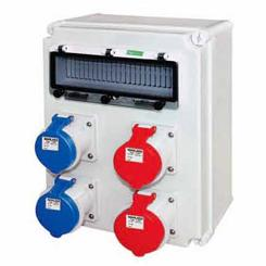 户外塑料插座电源箱 高品质防水防尘插座箱 来图可定制