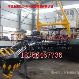 河道绞吸式大型小型挖泥清淤船,远距离输送绞刀式清淤船机械,绞