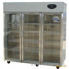 三门饮料展示柜,三门便利店冷柜,商用玻璃门展示柜