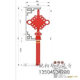 LED中国结路灯