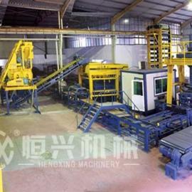 水泥砖全自动生产线 免烧砖全自动生产线qt8-15全自动线