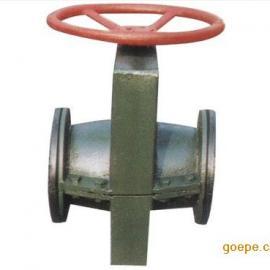 GJ41X-10铸铁管夹阀/耐酸耐浸蚀衬氟衬胶管夹阀/碳钢管夹阀