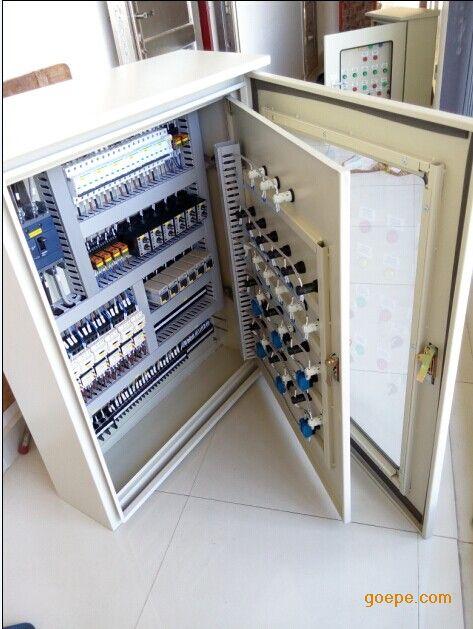 三菱PLC控制柜图片 高清大图 谷瀑环保