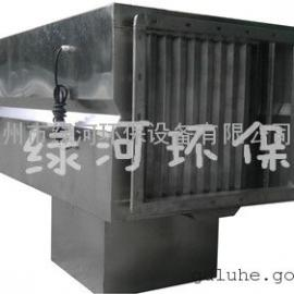 南昌酒店厨房水喷淋油烟净化器供货商 绿河 环保油烟净化器